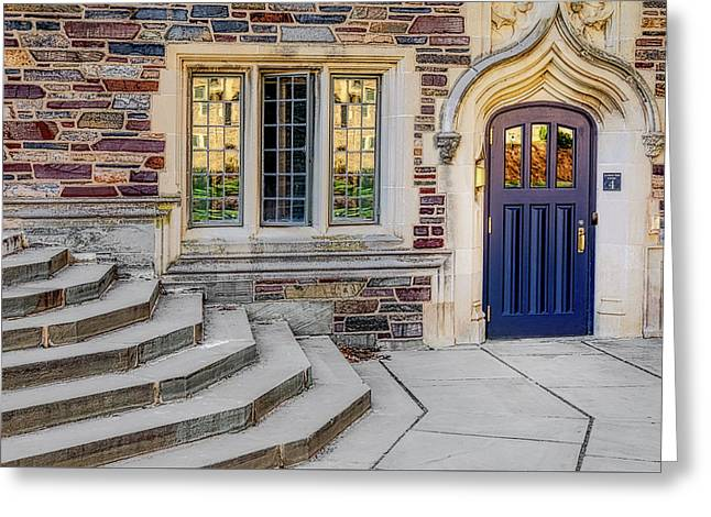 Greeting Card featuring the photograph Princeton University Lockhart Hall by Susan Candelario