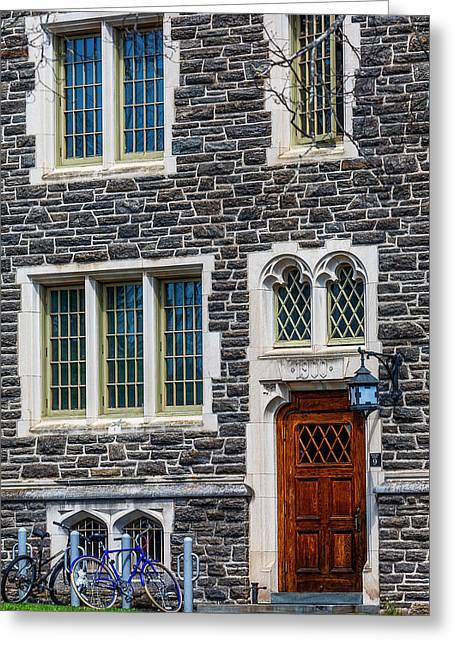 Greeting Card featuring the photograph Princeton University Patton Hall No 9 by Susan Candelario
