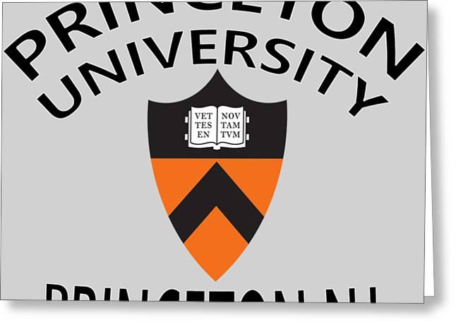 Princeton University Princeton N J Greeting Card