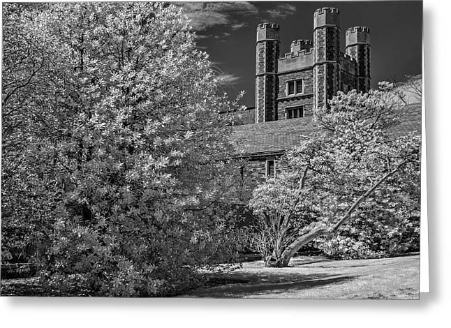 Greeting Card featuring the photograph Princeton University Buyers Hall by Susan Candelario