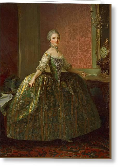 Principessa Maria Luisa Di Borbone Greeting Card