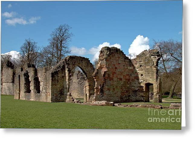Priory Ruins Greeting Card