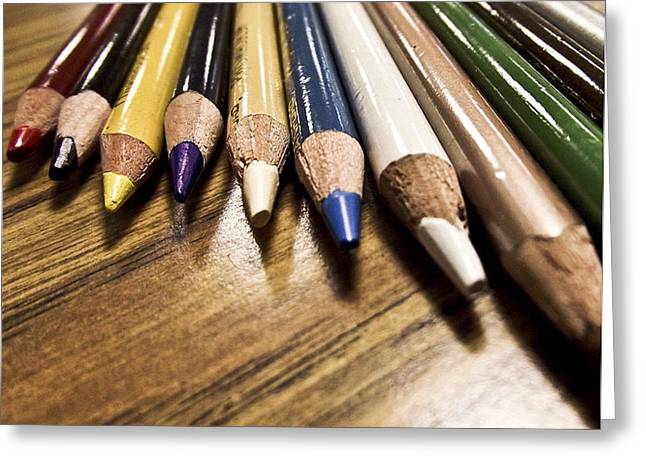 Prismacolored Pencils Greeting Card