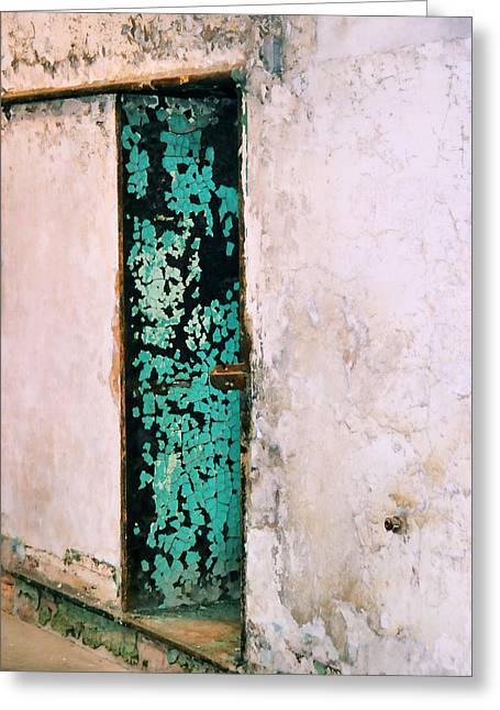 Prison Cell Greeting Card by JAMART Photography