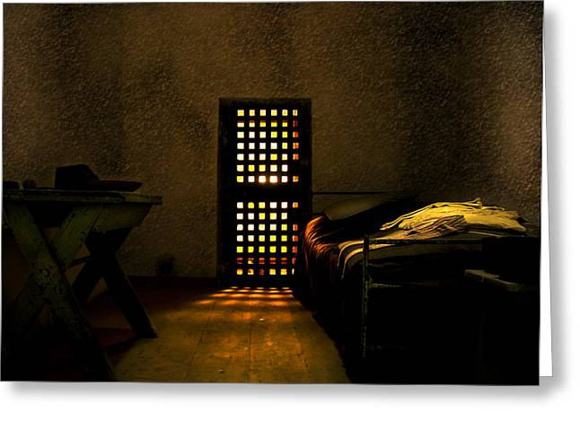 Prison Greeting Card by Svetlana Sewell