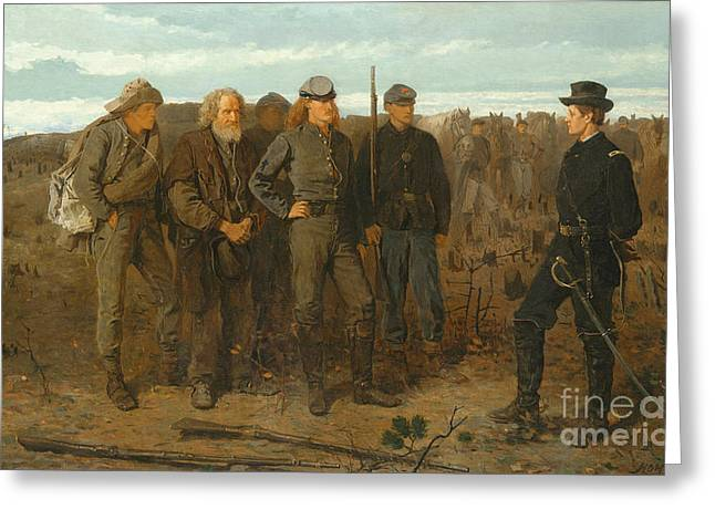 Prisoners From Front, 1866 Greeting Card