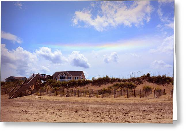 Private Beach Greeting Card by JAMART Photography