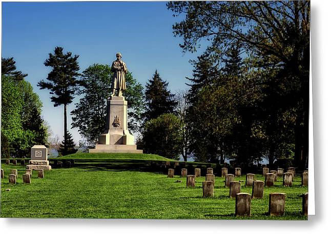 Private Soldier Monument - Antietam Greeting Card