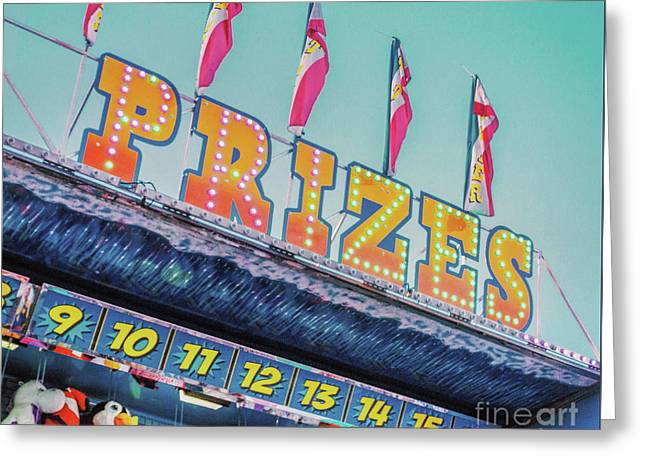 Greeting Card featuring the photograph Prizes by Cindy Garber Iverson