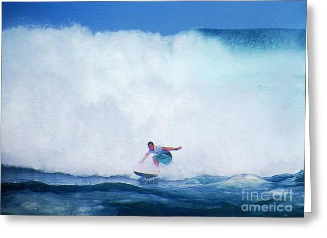 Pro Surfer Gabe King -6 Greeting Card