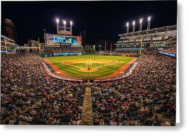 Progressive Field Photograph By Brad Hartig Bth Photography