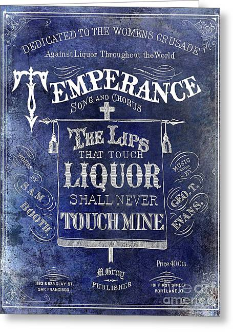 Prohibition Lips Greeting Card by Jon Neidert