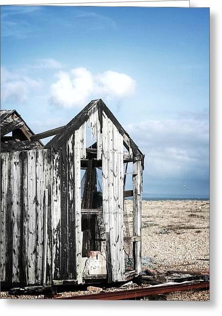 Projekt Desolate Safehouse Greeting Card by Stuart Ellesmere