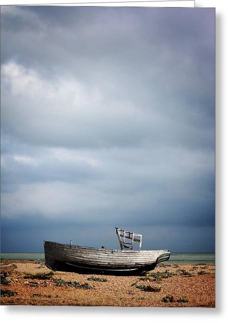 Projekt Desolate Shoreline  Greeting Card by Stuart Ellesmere