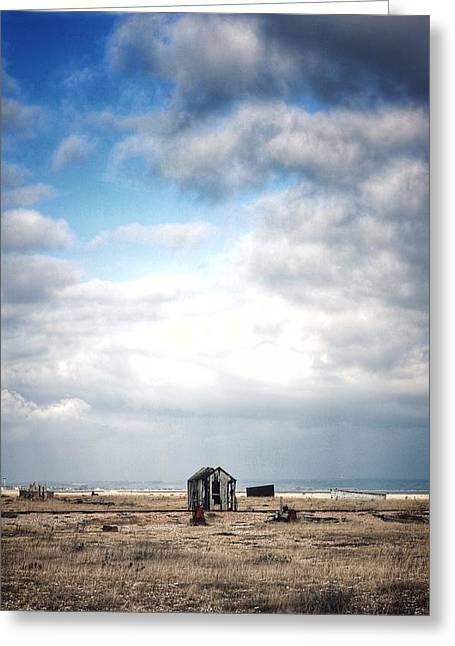 Projekt Desolate The Distance  Greeting Card by Stuart Ellesmere