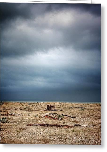 Projekt Desolate Workspace  Greeting Card by Stuart Ellesmere
