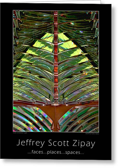 Promo Poster Greeting Card by Jeffrey Zipay