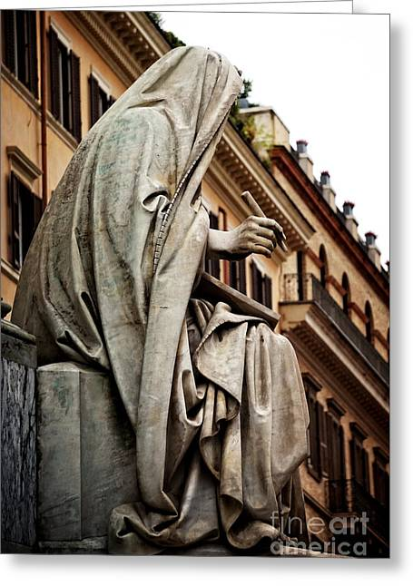 Prophet Isaiah By Revelli Greeting Card by HD Connelly