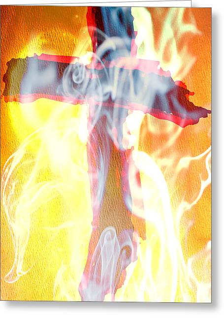 Prophetic Art Of Beverly Guilliams Greeting Card