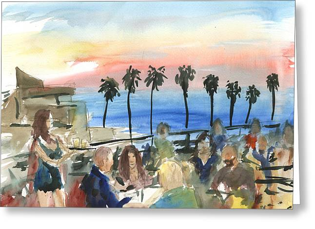 Prospect Of A Sunset Greeting Card