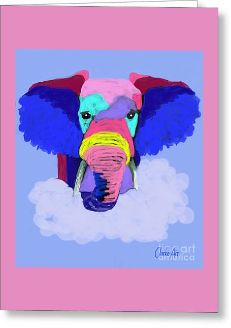 Protect Our Endangered Elephants Greeting Card