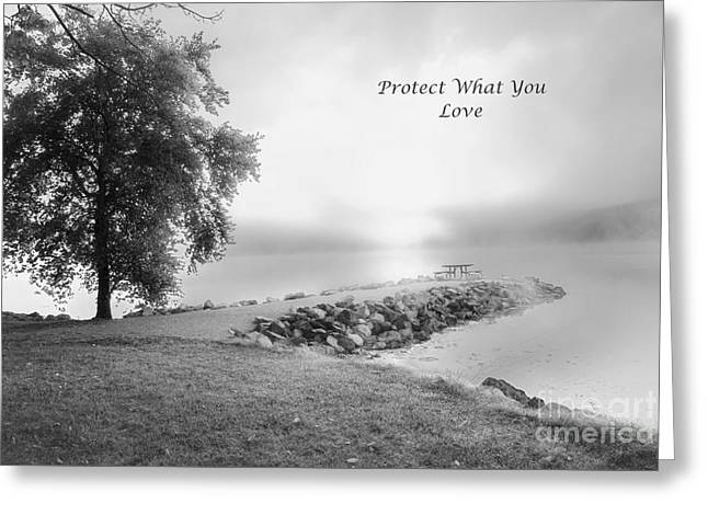 Protect What You Love Greeting Card