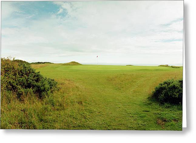 Protected Green, Dornoch Greeting Card by Jan W Faul