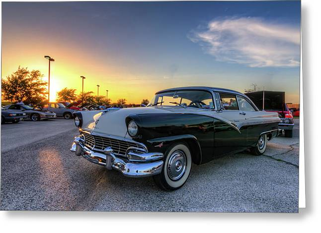 Proud Fairlane At Sunset Greeting Card by Tim Stanley