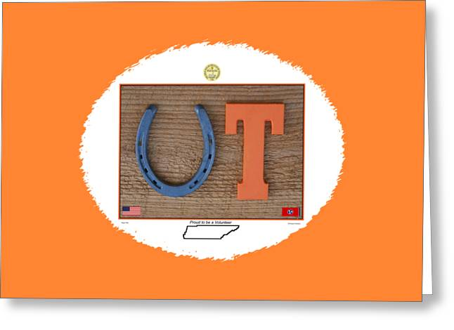 Proud To Be A Vol For T Shirts And Gifts Greeting Card