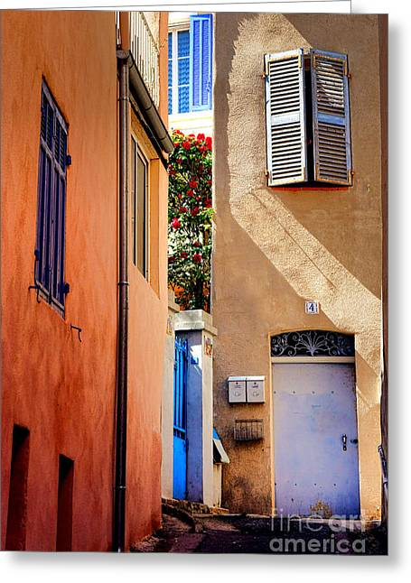 Provencal Passage  Greeting Card by Olivier Le Queinec