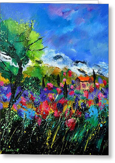 Provence 450170 Greeting Card by Pol Ledent