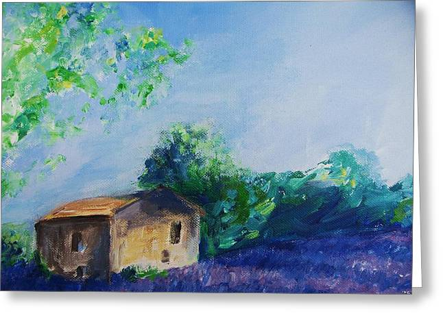 Provence House Greeting Card by Eric  Schiabor