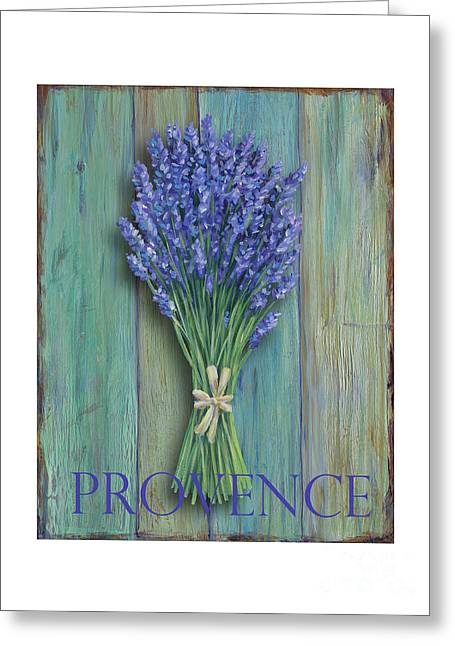 Provence Sign Greeting Card by Danielle Perry