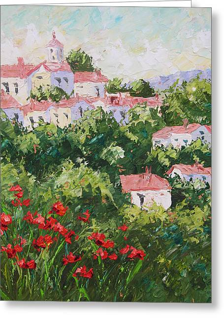 Provence Souht Of France Greeting Card