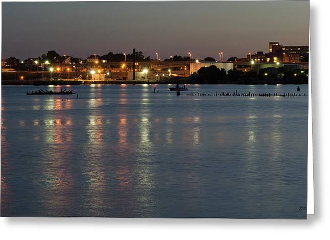 Providence Harbor II Greeting Card by Dave Gordon