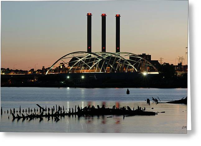 Providence Harbor IIi Greeting Card