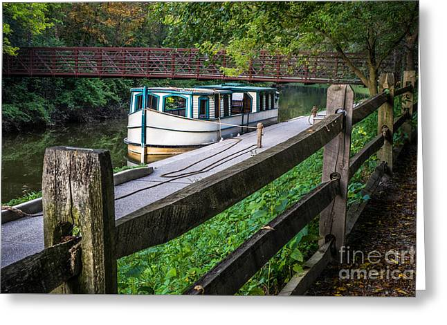 Providence Metropark Erie Canal  Greeting Card