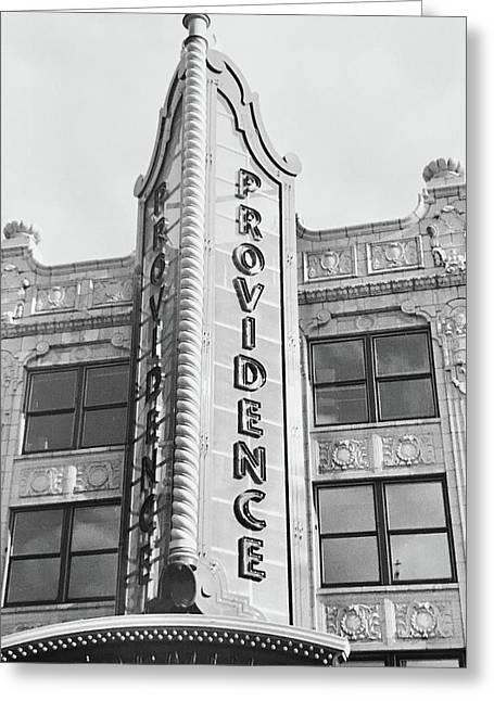 Providence Greeting Card