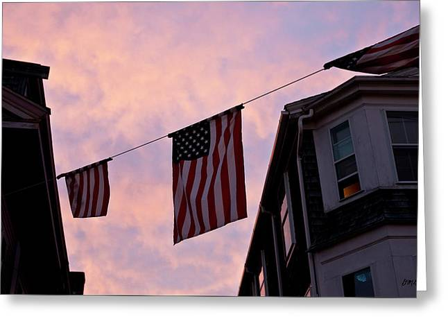 Provincetown At Dusk Greeting Card