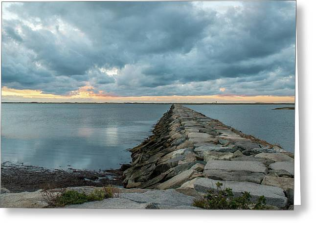 Provincetown Breakwater #3 Greeting Card