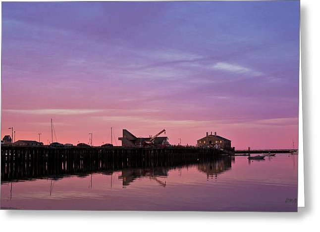 Provincetown Harbor I Greeting Card by David Gordon