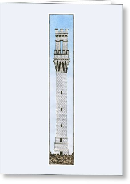 Provincetown Pilgrim Monument Greeting Card
