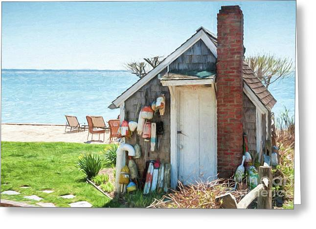 Provincetown Shed Greeting Card
