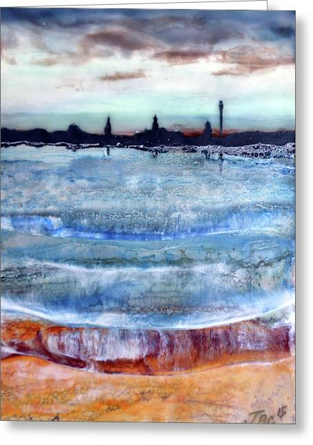 Provincetown Skyline 1 Greeting Card