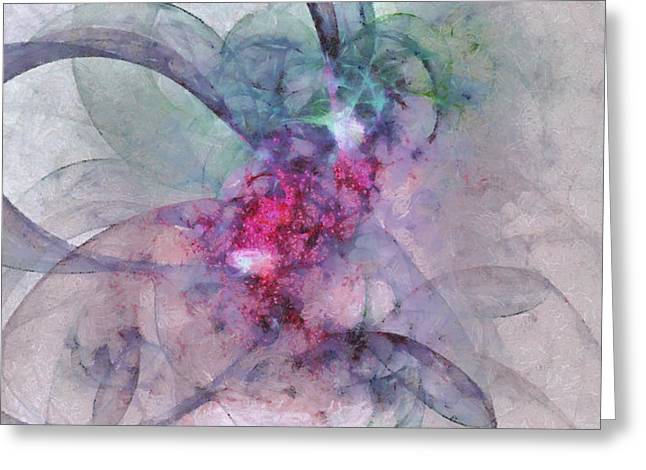 Provocation Symmetry  Id 16097-150839-31700 Greeting Card by S Lurk