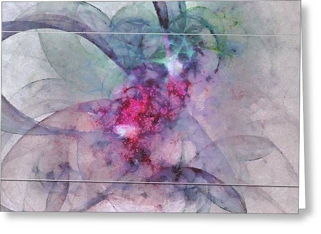 Provocation Symmetry  Id 16097-150839-31703 Greeting Card by S Lurk