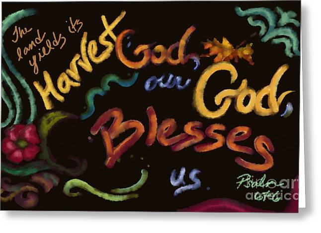 Psalm 67 Greeting Card