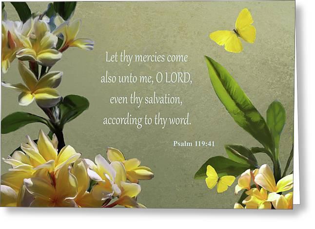 Psalms 02 Greeting Card