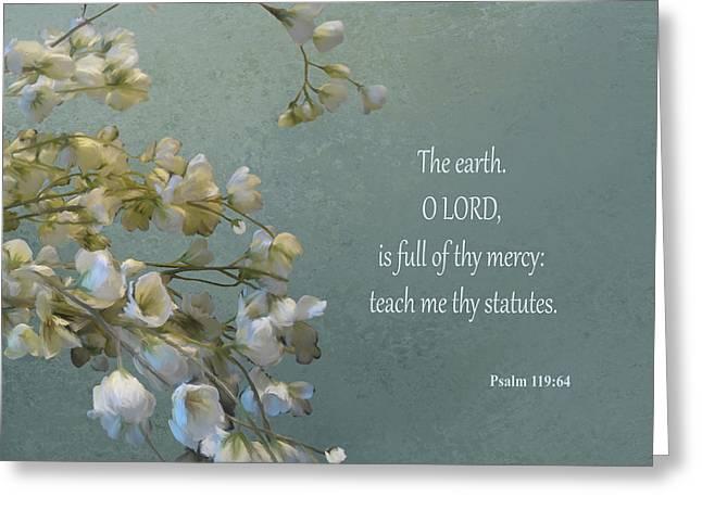 Psalms 03 Greeting Card