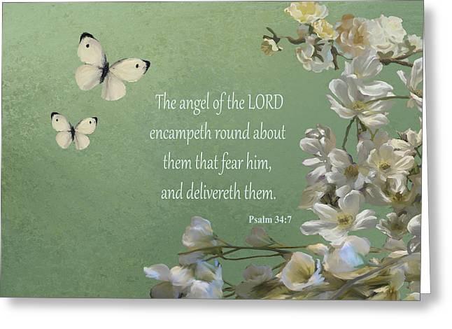 Psalms 04 Greeting Card